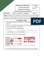 Manual de Conciliacion de Retenciones de Iva Debito Fiscal