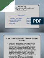 OTK 3 KELOMPOK 2 (11.4 Distilasi Dengan Metode Reflux Dan Mc-Cabe Thiele)