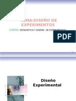 Diseño de Experimentoss