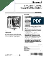 Interruptor de Presion Honeywell 10