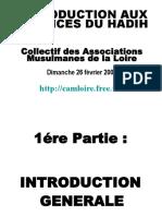 Cours Science Du Hadith Association Musulmane de La Loire