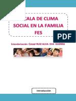 Escala Del Clima Social en La Familia FES (1)