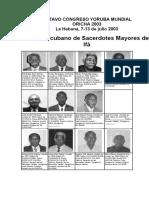 Octavo Congreso Yoruba Mundial