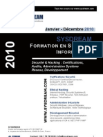 Catalogue Sysdream2010shd