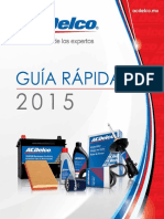 ACDelco Guia Rapida 2015