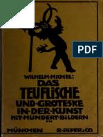 Micheal Wilhelm Das Teufliche Und Groteske in Der Kunst
