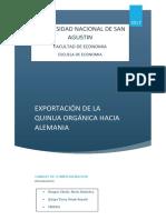 Canales de Comercializacion Quinua
