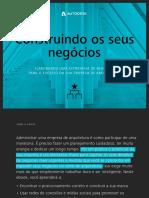 Manual empreendedorismo Construindo Negocios - Autodesk