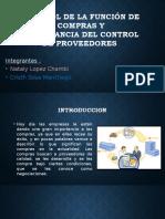 Control y Funciones de Las Compras