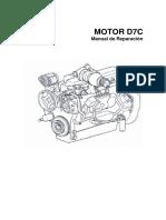 Manual de Reparacion maq. pesada motor  d7c