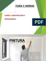 Pintura y Vidrios - Construccion II 2016