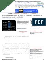 Considerações Sobre Os Tipos de Contratos Eletrônicos e Suas Peculiaridades Jurídicas - Fabrizio Alfarano Siano - JurisWay