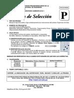 Preuniversitario_2012 1 Prueba de Seleccion