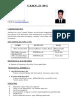 Rauf Noushad Mhmd CV
