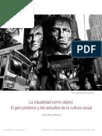 El giro pictórico y los estudios de la cultura visual de Javier Dotta Ambrosini