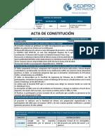 Acta de Constitución Taller Capm