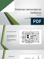 Sistemas nanoscópicos balísticos