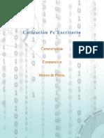 Cotización Desktop
