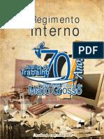 Regimento Interno Trt 23 - Edicao Atualizada Em Maio de 2017 1