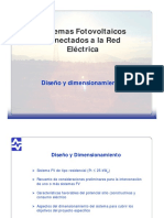 Diseno y Dimensionamiento Sistema Fotovoiltaico