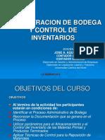Administracion Bodega y Control Inventarios