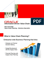 Value Chain Planning Overview