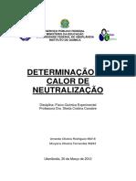 Relatorio 3 Determinação Do Calor De Neutralização.pdf