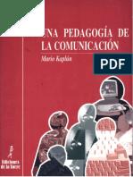 Una Pedagogia de La Comunicacion_ Mario Kaplún