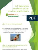 Valoracion Economica de Los Servicios Ambientales