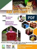 AFICHE 3ER CONGRESO DE ARTESANOS