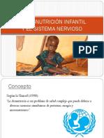 Desnutricion Infantil y Sistema nervioso