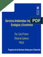 Pago Servicios Ambientales