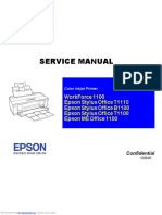 Workforce 1100 Service Manual