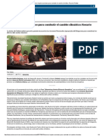 13-Junio- 2017Mexico Impulsa Acciones Para Combatir El Cambio Climático Rosario Robles