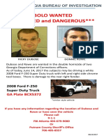 BOLO for Georgia fugitives