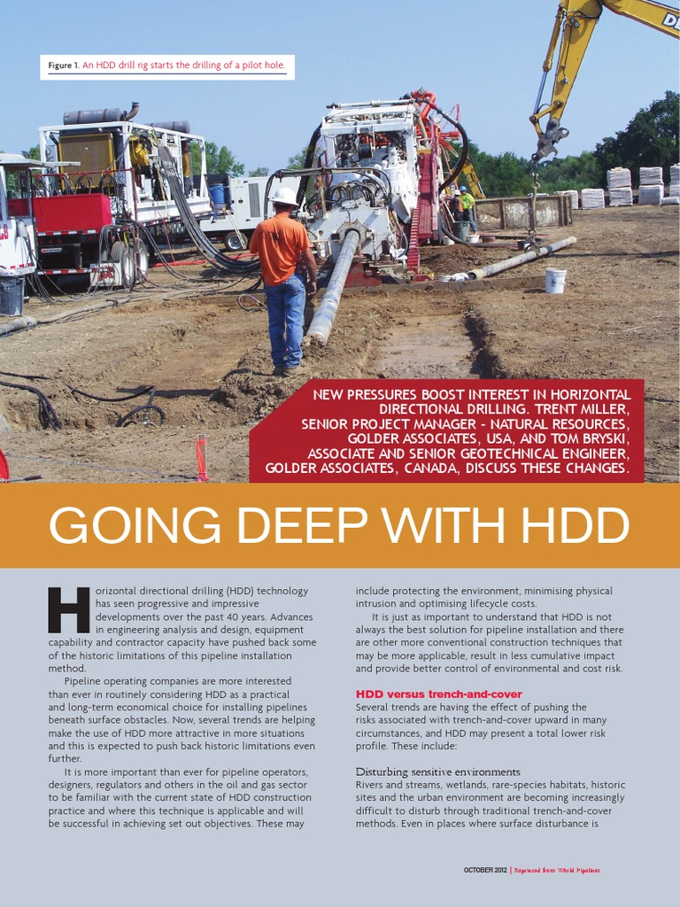 Article Going Deep With HDD World Pipelines October2012   Pipeline