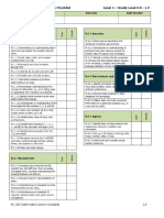 ABE 1 Math Checklist