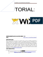 Tutorial Wix Definitivo