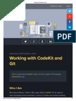 Working With CodeKit and Git