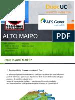 Ppt Alto Maipo