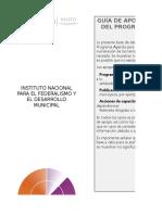 Guia de Apoyos Federales Para Acciones de Mejora ADM2016