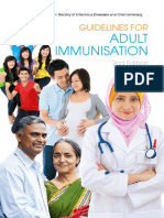 Adult Immunisation Guideline 2nd Edition 2014