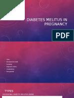 l8 Diabetes Melitus in Pregnancy