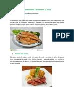 Gastronomia y Bebidas de La Selva