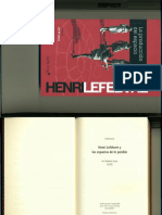 Lefebvre, Henry. La Producción Del Espacio_Prólogo