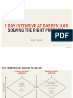Solving the Right Problem (UVA iLab)