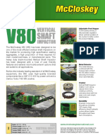 V80 Vertical Shaft Impactor