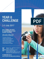 ENG Year8 Challenge Flyer