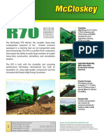 R70 Vibrating Screener
