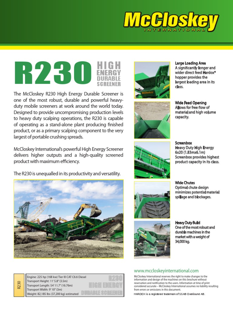 R230 | Technology | Energy And Resource